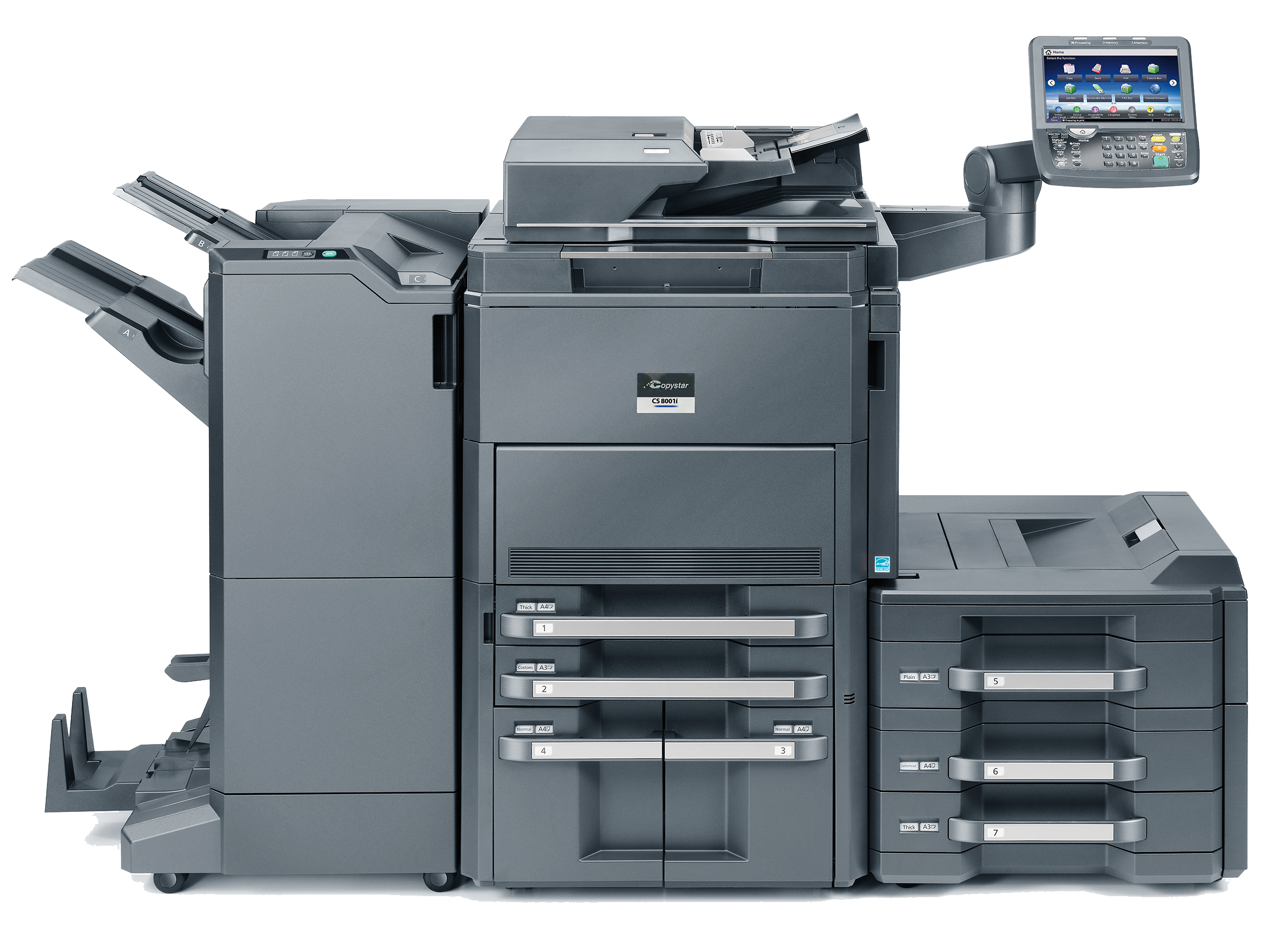 Kyocera Copystar Color Copier Copier Lease Rates 55014, 55025, 55038, 55110, 55126
